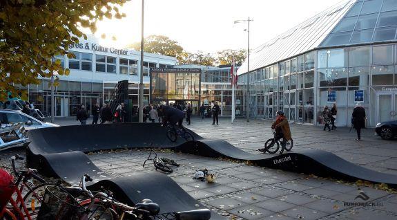 Pista per ciclisti PC1 a Aalborg, Danimarca