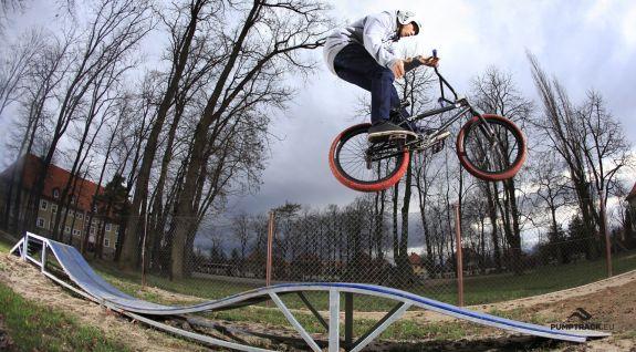Parco giochi per ciclisti