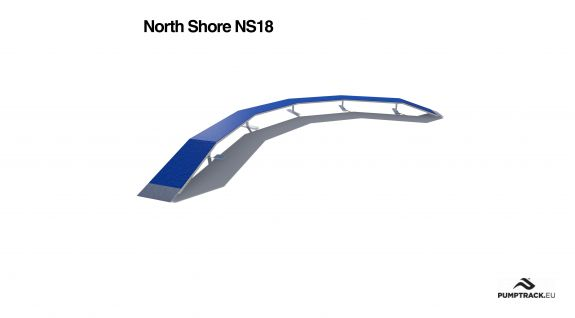 Render kładki North Shore NS18