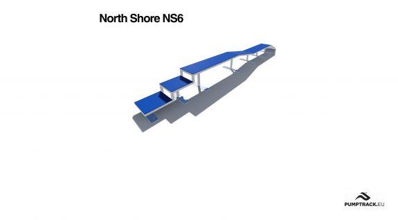Render kładki North Shore NS6