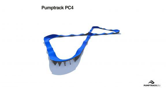 Pumptrack in materiale composito PC4