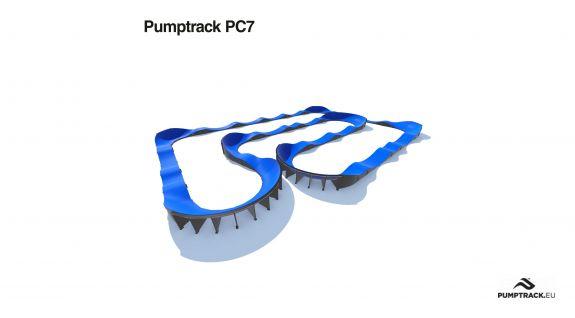 Pumptrack modulare PC7