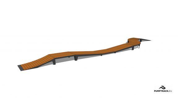 Pista ciclabile - Larix W25