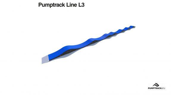Pumptrack modulare non stazionario